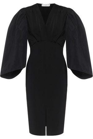 Givenchy Jersey and taffeta minidress