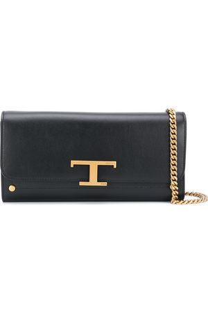 Tod's T-logo clutch bag