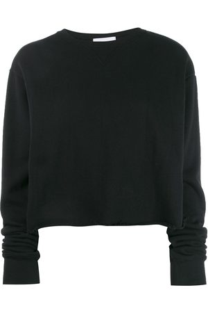 JOHN ELLIOTT Snyder cropped crew neck sweatshirt