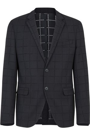 Fendi Deconstructed slim blazer
