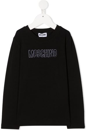 Moschino Logo long-sleeve top