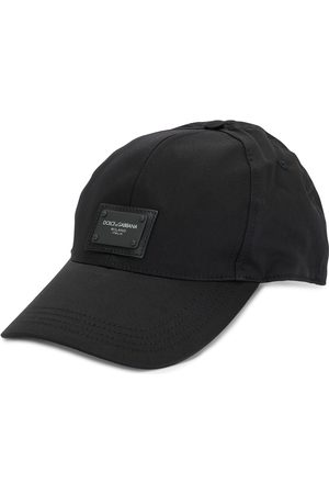 Dolce & Gabbana Logo patch cotton cap