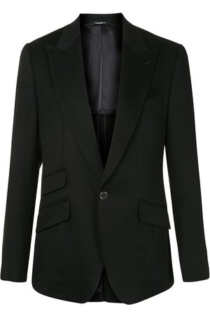 Dolce & Gabbana Single button cashmere blazer