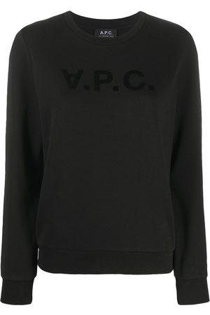 A.P.C Logo print T-shirt
