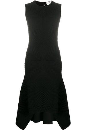 Alexander McQueen Sleeveless brocade knit dress
