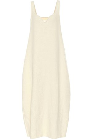 Jil Sander Cotton and wool midi dress