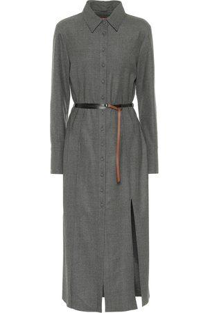 Altuzarra Edith belted wool shirt dress