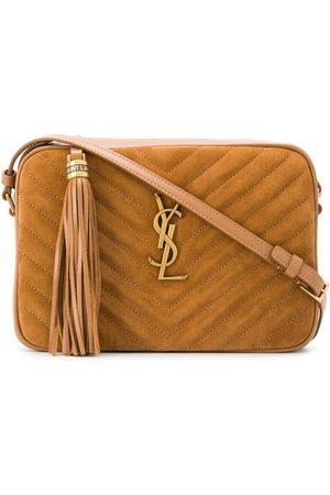Saint Laurent Women Shoulder Bags - Lou quilted crossbody bag