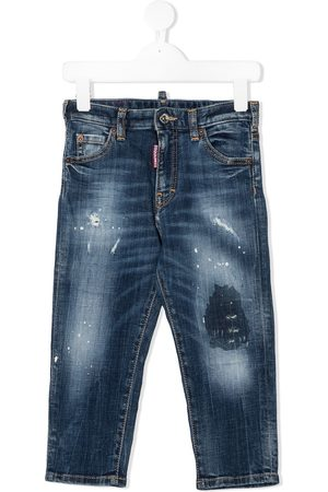 Dsquared2 Distressed regular-fit jeans