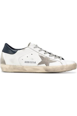 Golden Goose Superstar distressed-finish sneakers