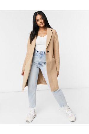 New Look Tailored coat in camel