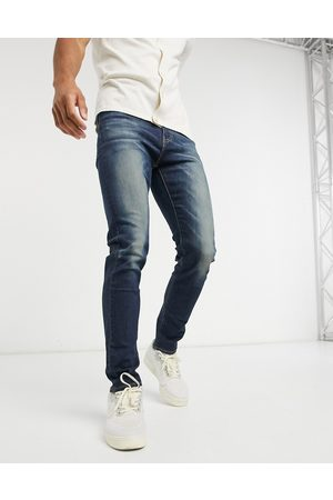 Levi's 510 skinny fit jeans in star map advanced dark indigo