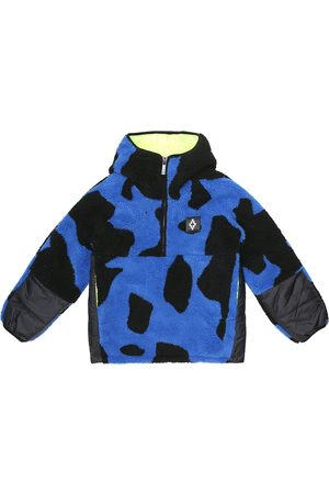 Marcelo Burlon Kids of Milan Printed fleece jacket