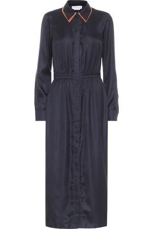 GABRIELA HEARST Lowell silk-twill midi dress