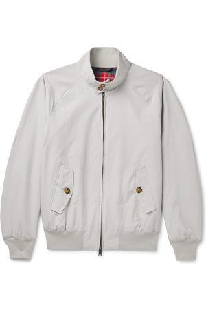 Baracuta Men Bomber Jackets - G9 Cotton-Blend Harrington Jacket