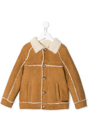 Dolce & Gabbana Button-up shearling jacket