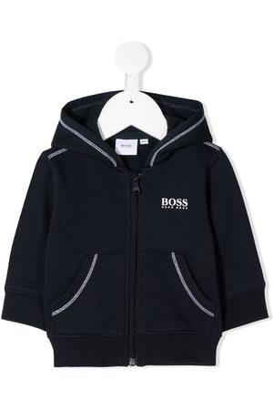 HUGO BOSS Zip front hoodie