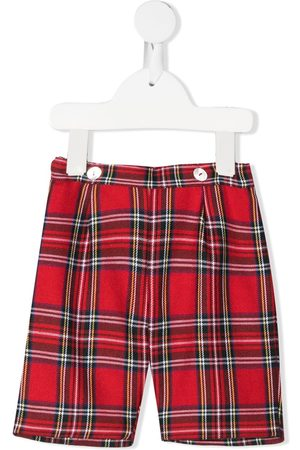 SIOLA Check tailored shorts
