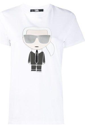 Karl Lagerfeld Graphic-print crew neck T-Shirt