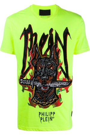 Philipp Plein T-shirt Round Neck SS Graffiti