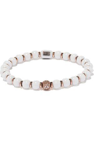 ROBERTO DEMEGLIO Women Bracelets - 18kt rose gold, diamond and white ceramic bracelet