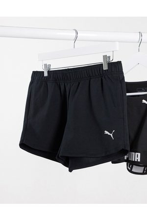PUMA Active essentials Training shorts in with logo
