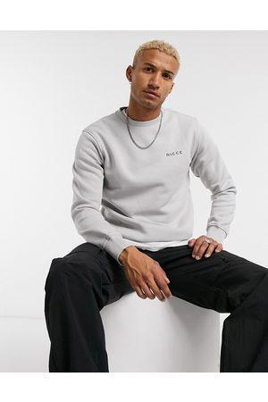 Nicce London Chest logo sweatshirt in