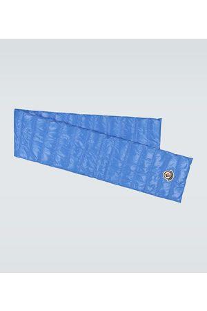 Moncler Padded nylon laqué scarf