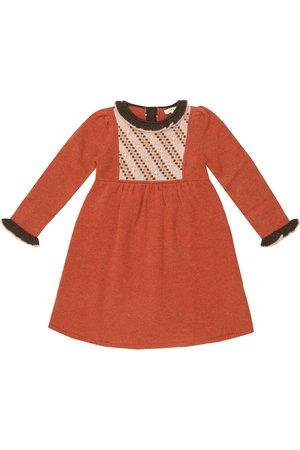 Caramel Baby Nightingale merino wool dress