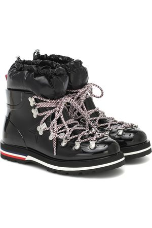 Moncler Inaya rubber and down snow boots