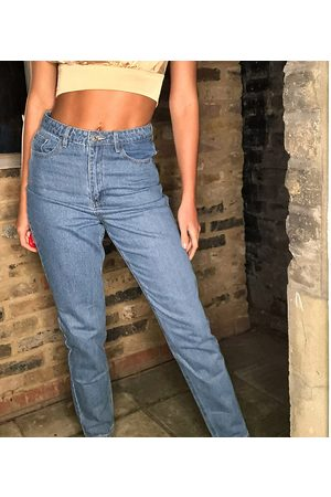 Missguided Tall Riot high waisted mom jeans in