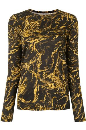 Proenza Schouler Painted Figures long-sleeve T-shirt