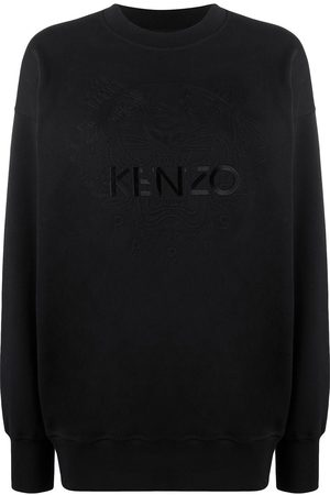 Kenzo Embroidered logo crew neck sweatshirt