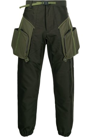 WHITE MOUNTAINEERING Belted cargo trousers