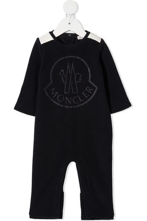 Moncler Embroidered bodysuit with elbow patches