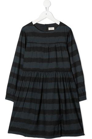 Buho Striped smock dress