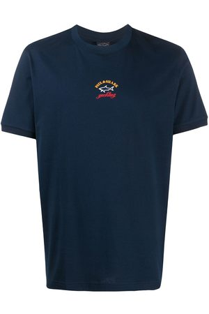 Paul & Shark Crew neck logo print T-shirt