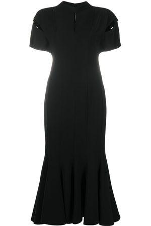 VERSACE Slash short-sleeved dress