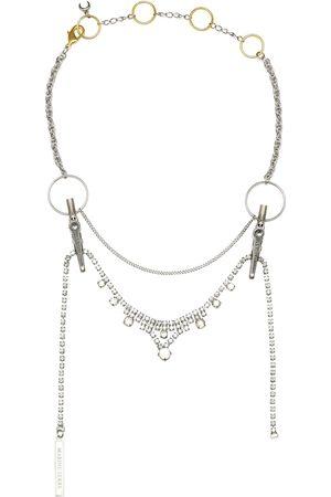 Marine Serre Embellished necklace