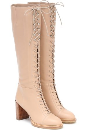 GABRIELA HEARST Pat 75 knee-high boots