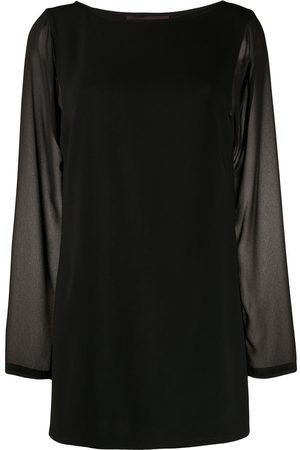 TALBOT RUNHOF Sheer blouse