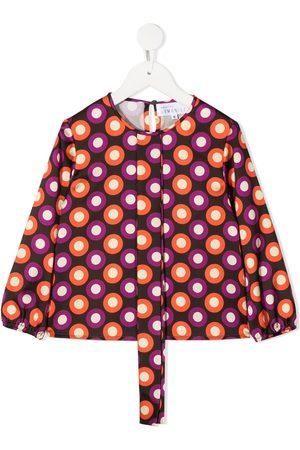 SEÑORITA LEMONIEZ Dora spot print blouse