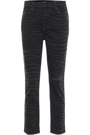 J Brand Ruby high-rise slim jeans