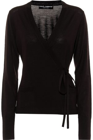 Dolce & Gabbana Virgin wool wrap cardigan