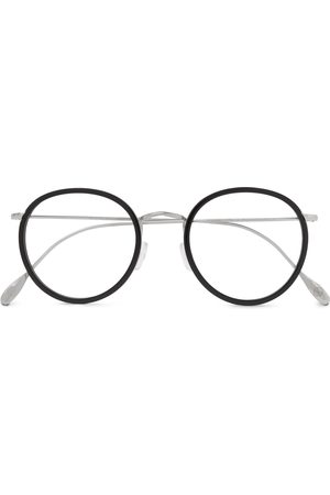 KINGSMAN Men Sunglasses - Cutler and Gross Round-Frame Acetate and Silver-Tone Optical Glasses