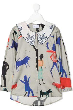 Wolf & Rita Graphic print long-sleeved shirt