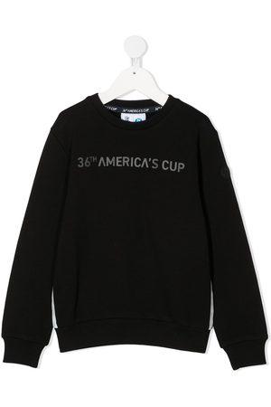 North Sails Kids Long sleeve logo print jumper