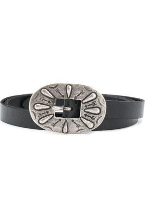 Polo Ralph Lauren Women Belts - Oversized arrow engraved buckle belt
