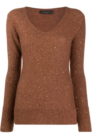 Fabiana Filippi Long-sleeve fitted jumper