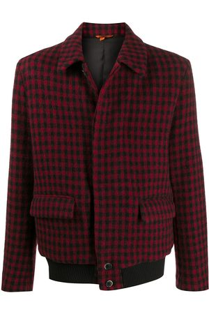 BARENA Check buttoned jacket